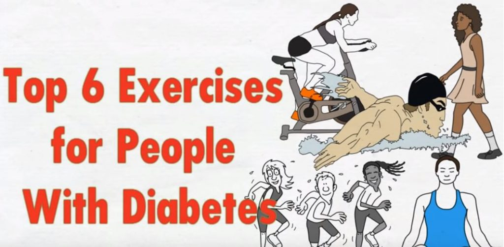 Top 6 Exercises for People with Diabetes